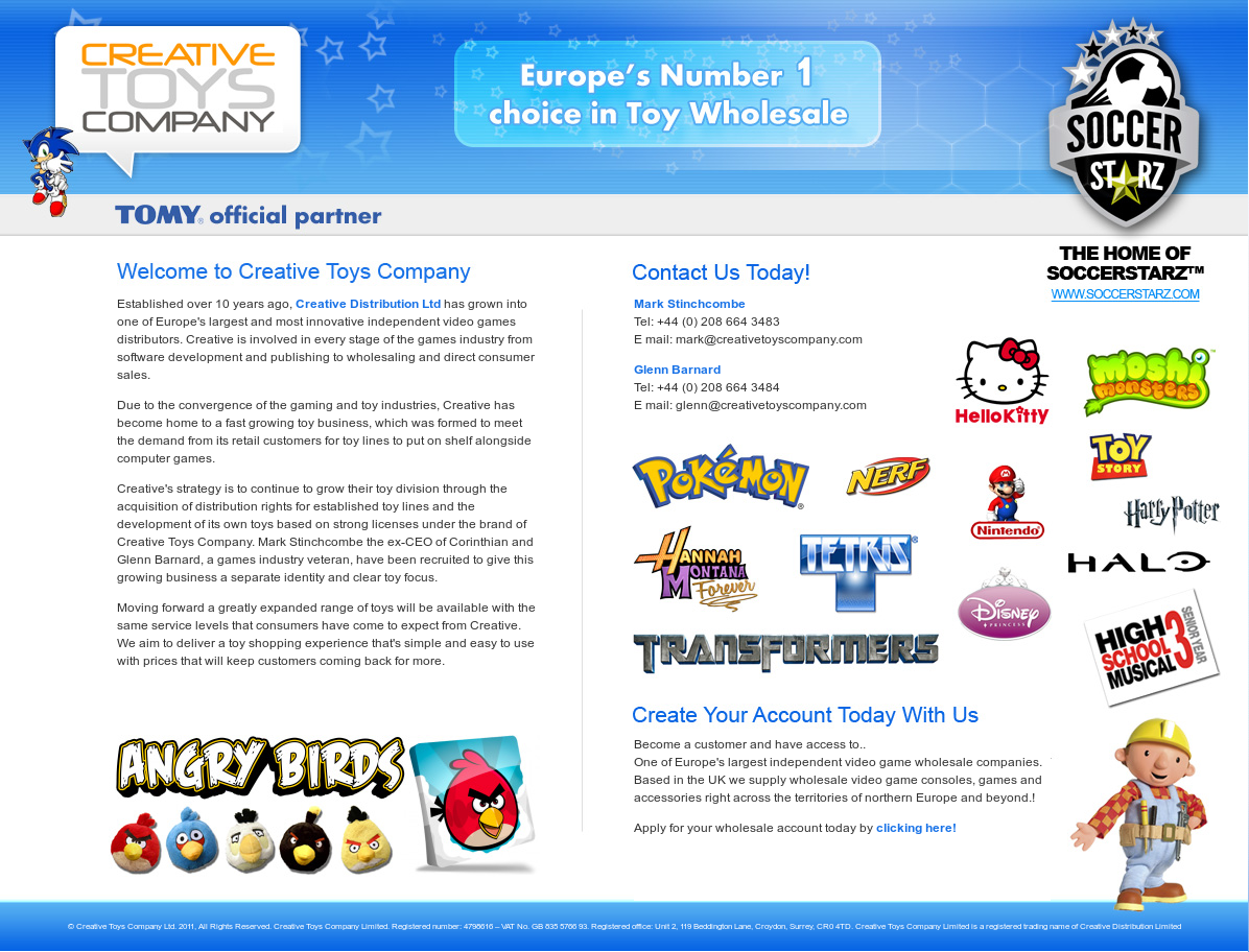 Creative Toys Company Competitors, Revenue and Employees - Owler