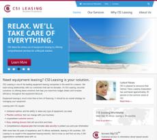 CSI Leasing website history