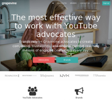 Grapevine Logic website history
