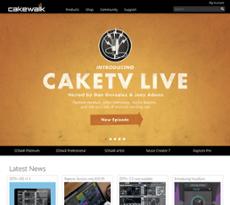 Cakewalk website history