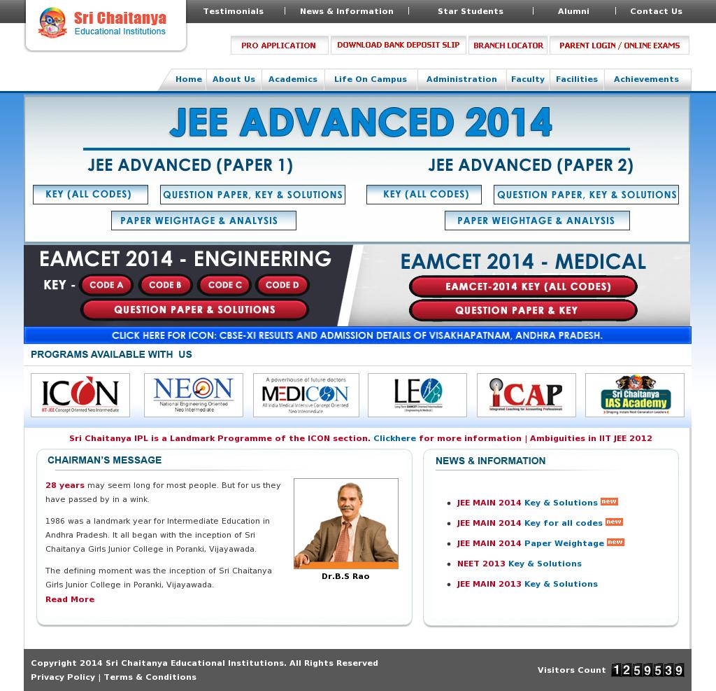 Sri Chaitanya Educational Institutions Competitors, Revenue and