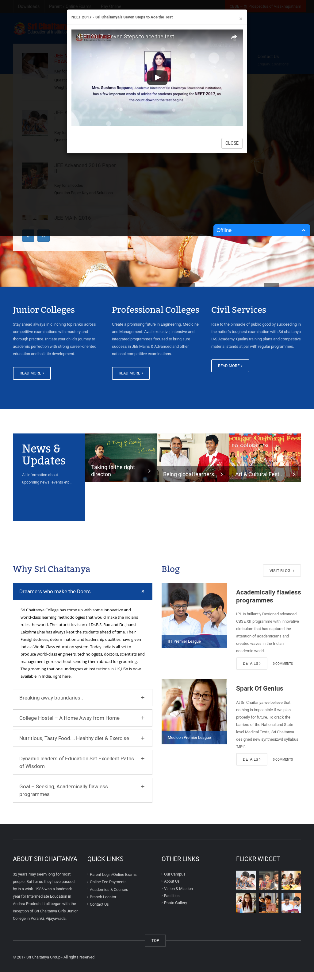 Sri Chaitanya Educational Institutions Competitors, Revenue