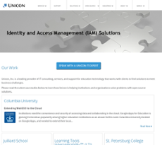 Unicon website history