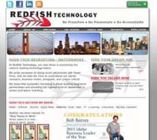 Redfish Tech website history