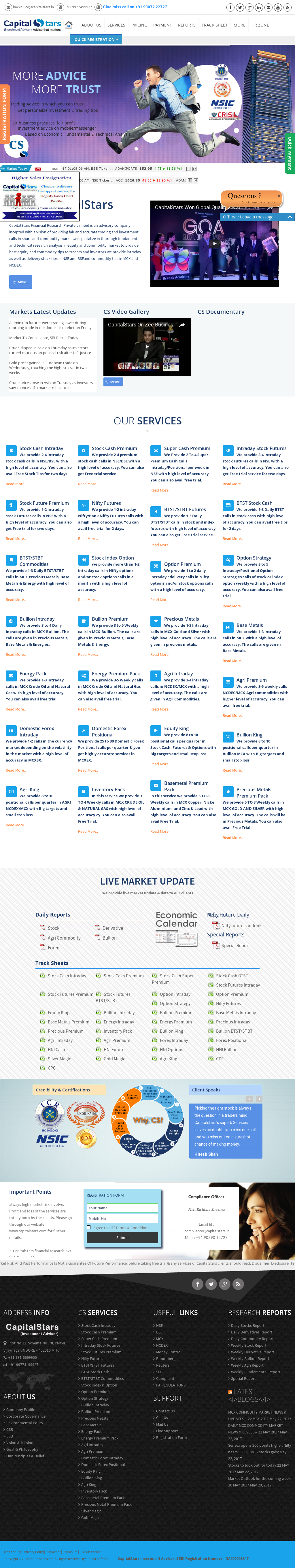CapitalStars Financial Research Competitors, Revenue and
