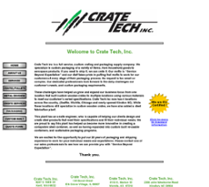 Crate Tech website history