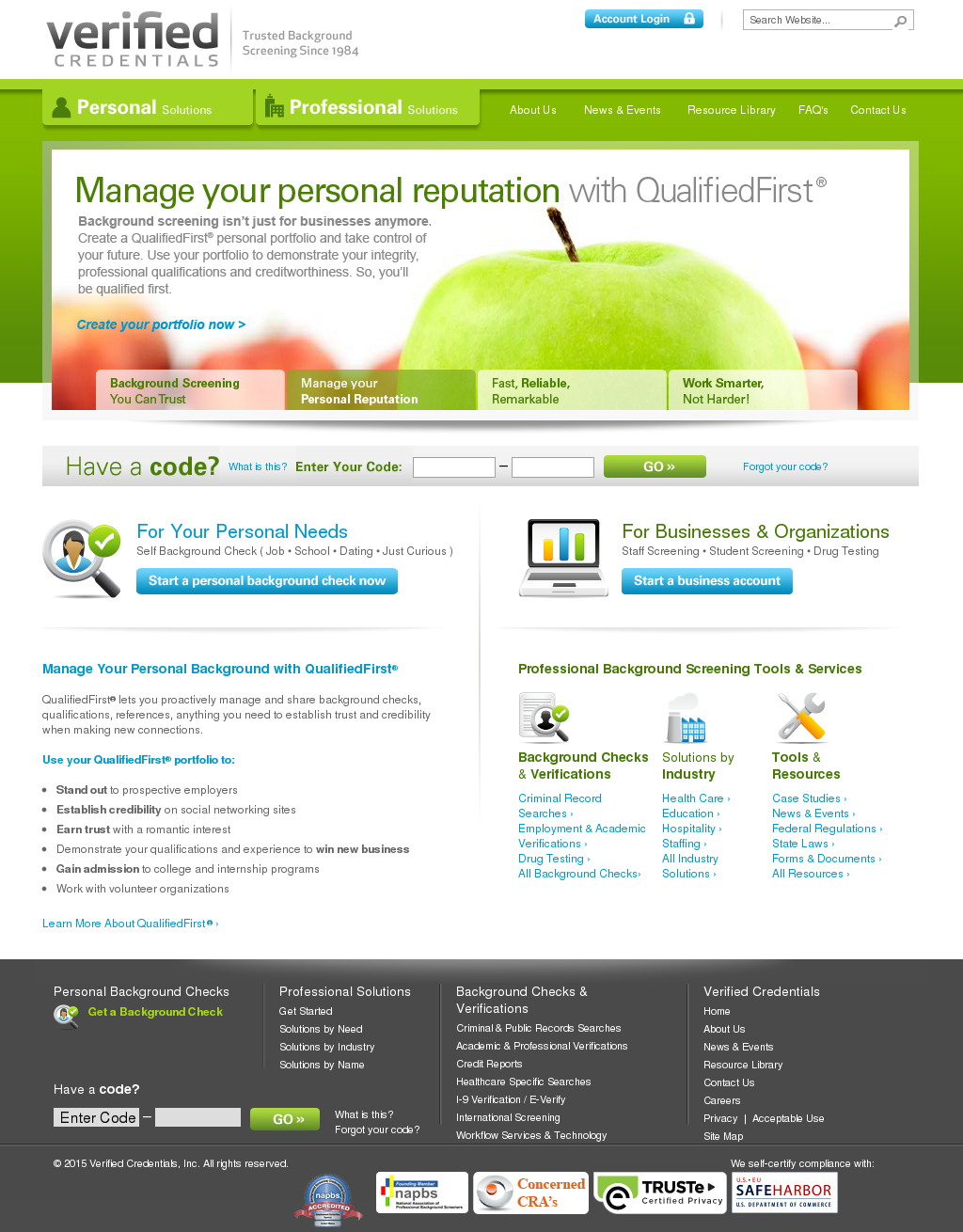 Verified Credentials Competitors, Revenue and Employees - Owler