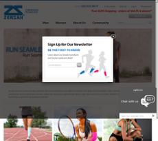 Zensah's website history