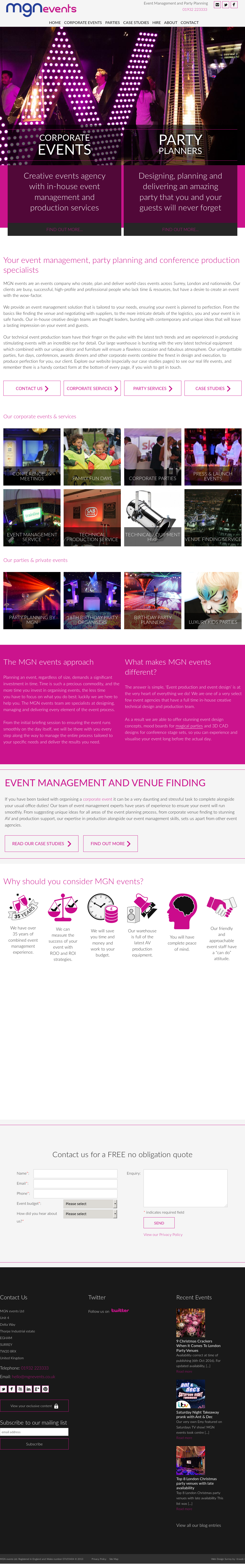MGN events petitors Revenue and Employees Owler pany Profile