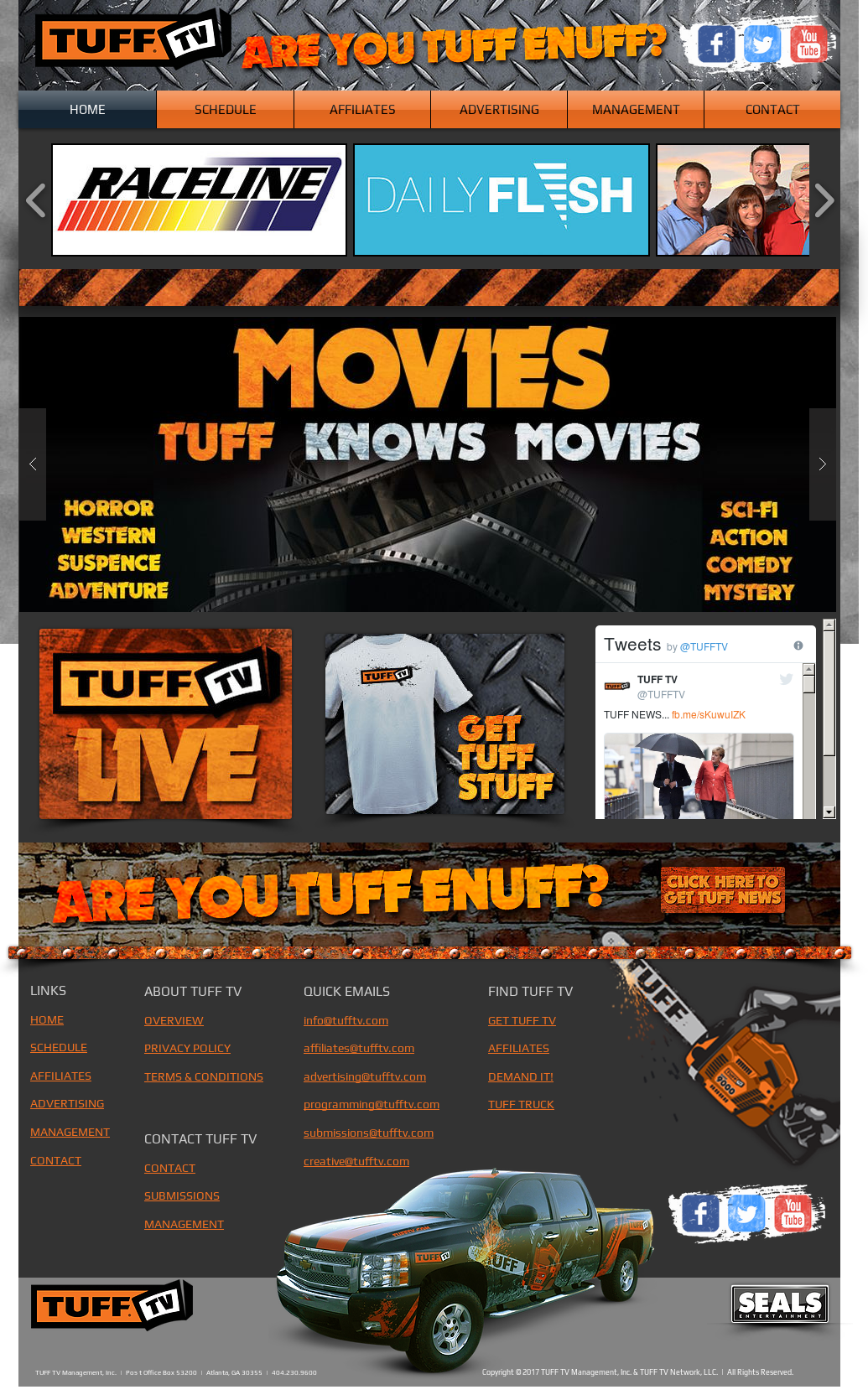 Tuff Tv Network, Llc & Tuff Tv Worldwide Competitors
