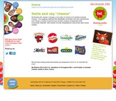 Bel Brands website history