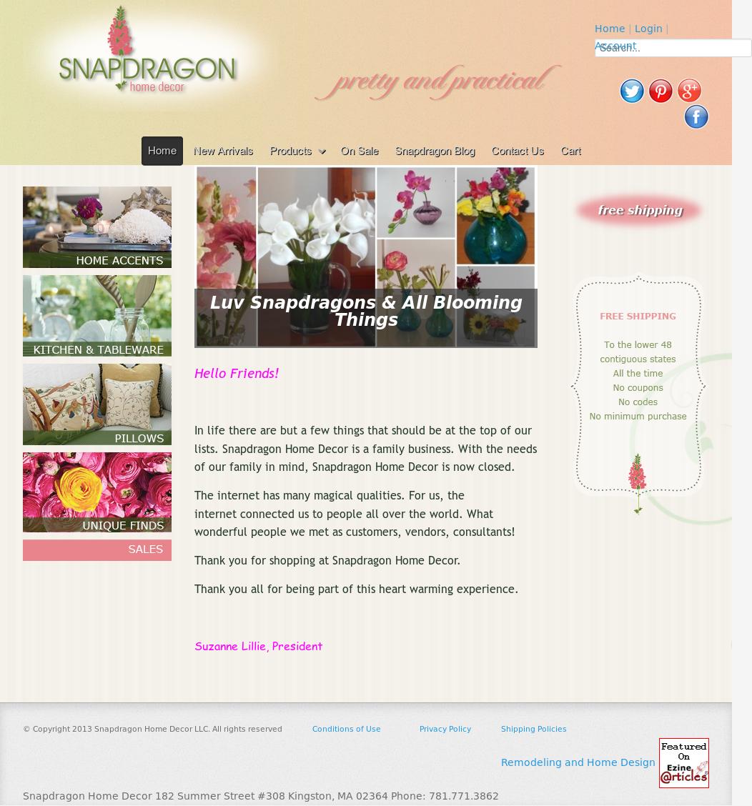 d example godaddy home homedecor cor templates decor website thumb