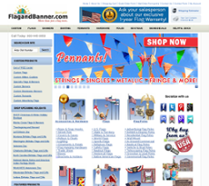 Flag & Banner website history