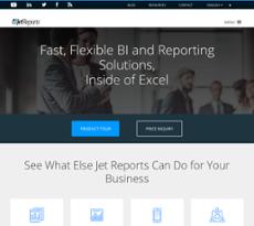 Jet Reports website history