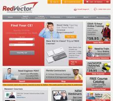 RedVector website history