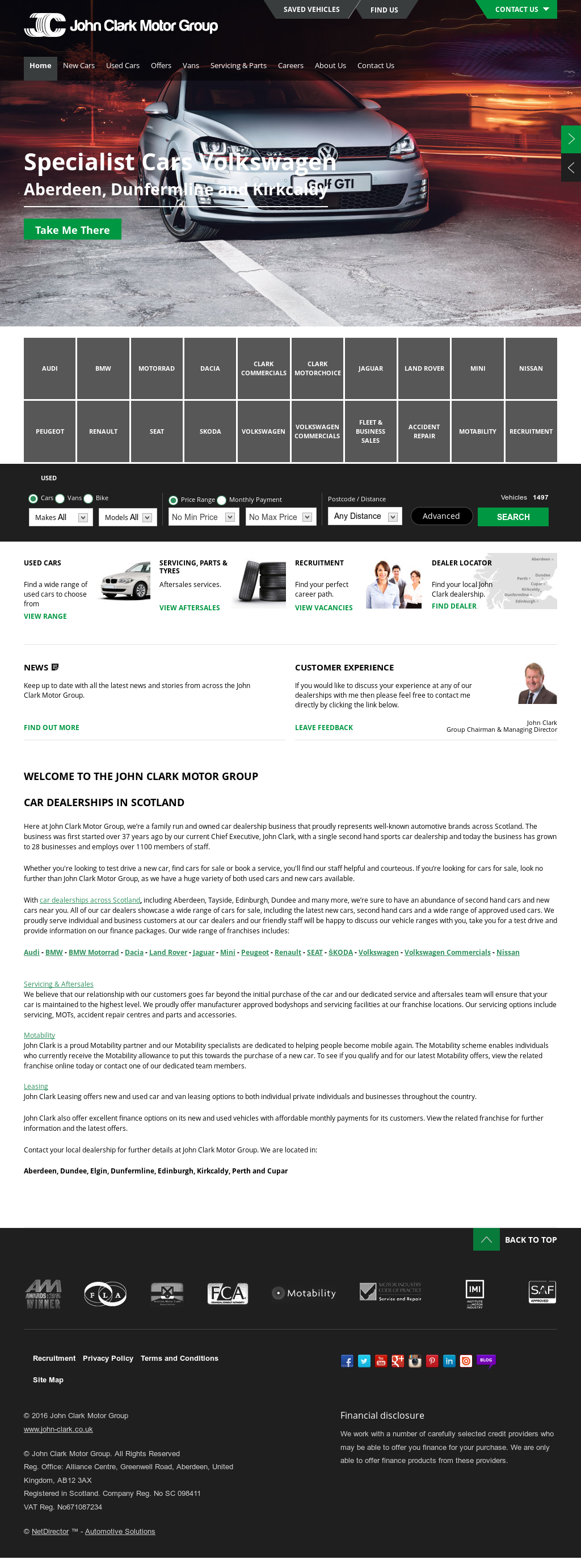 The John Clark Motor Group Competitors, Revenue and Employees - Owler Company Profile