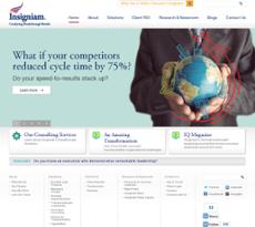 Insigniam website history