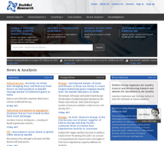 TechSci Research website history