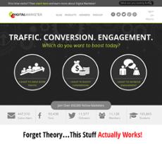 Digital Marketer website history