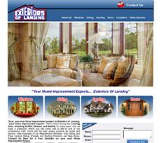Exteriors Of Lansing Website History
