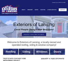 Perfect Exteriors Of Lansing Website History