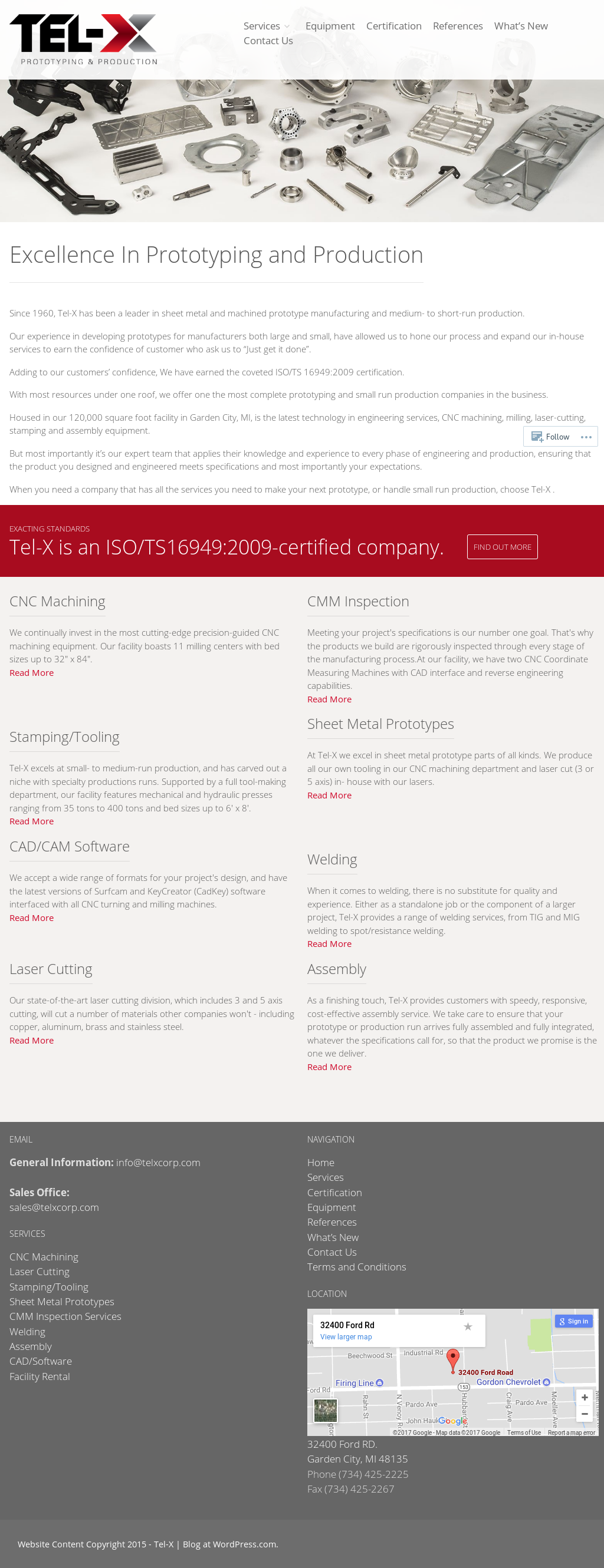 TelX Corporation Website History
