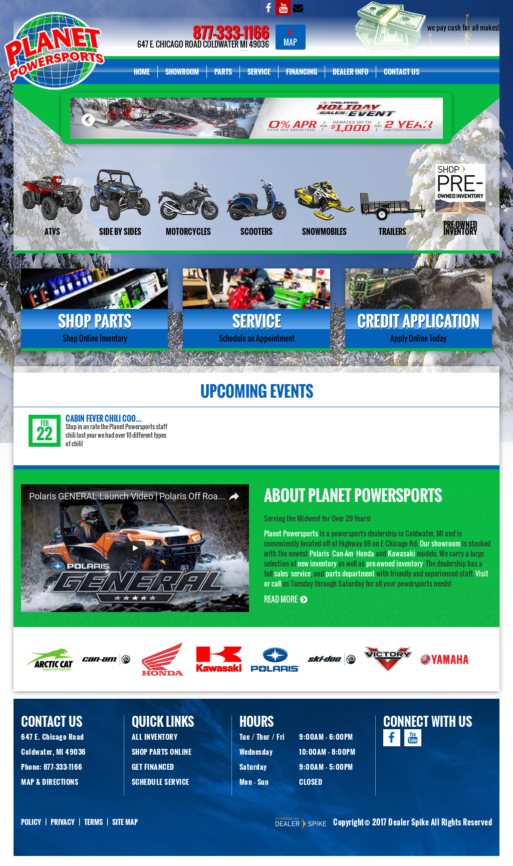 Planet Powersports Competitors, Revenue and Employees