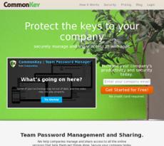 CommonKey website history
