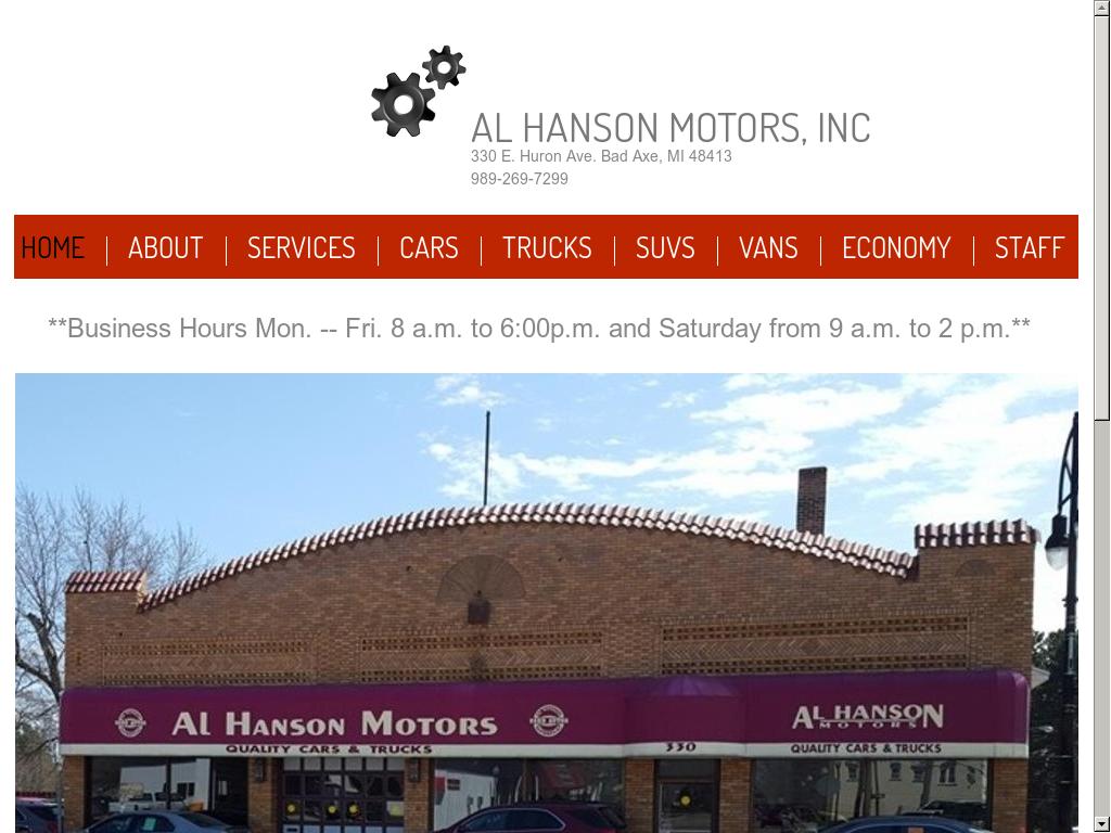 Al Hanson Motors Competitors, Revenue and Employees - Owler Company Profile