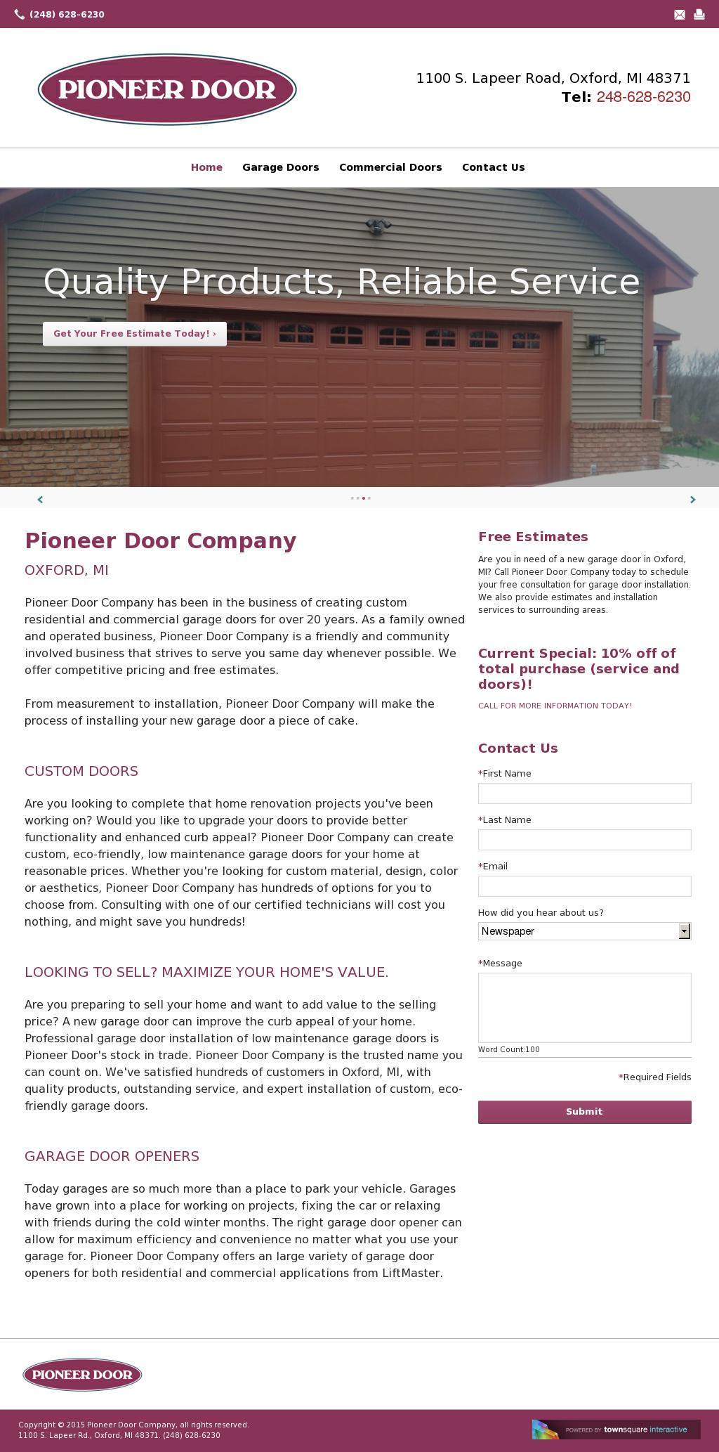 Pioneer Door Co Competitors, Revenue And Employees   Owler Company Profile