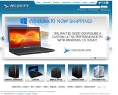 Velocity Micro website history