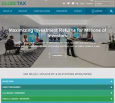 GlobeTax website history