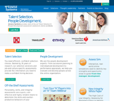 Assess Systems website history