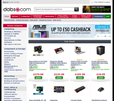 Dabs website history
