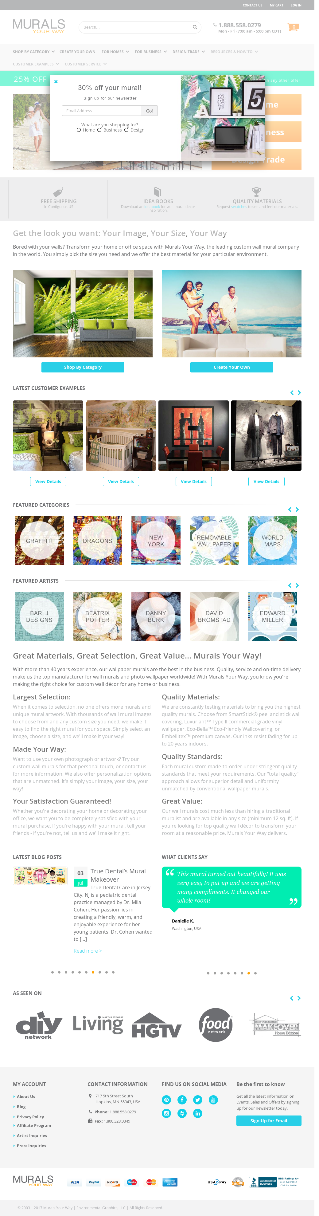 Murals Your Way Compeors Revenue And Employees Owler Company Profile