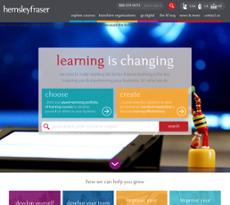 Hemsley Fraser website history