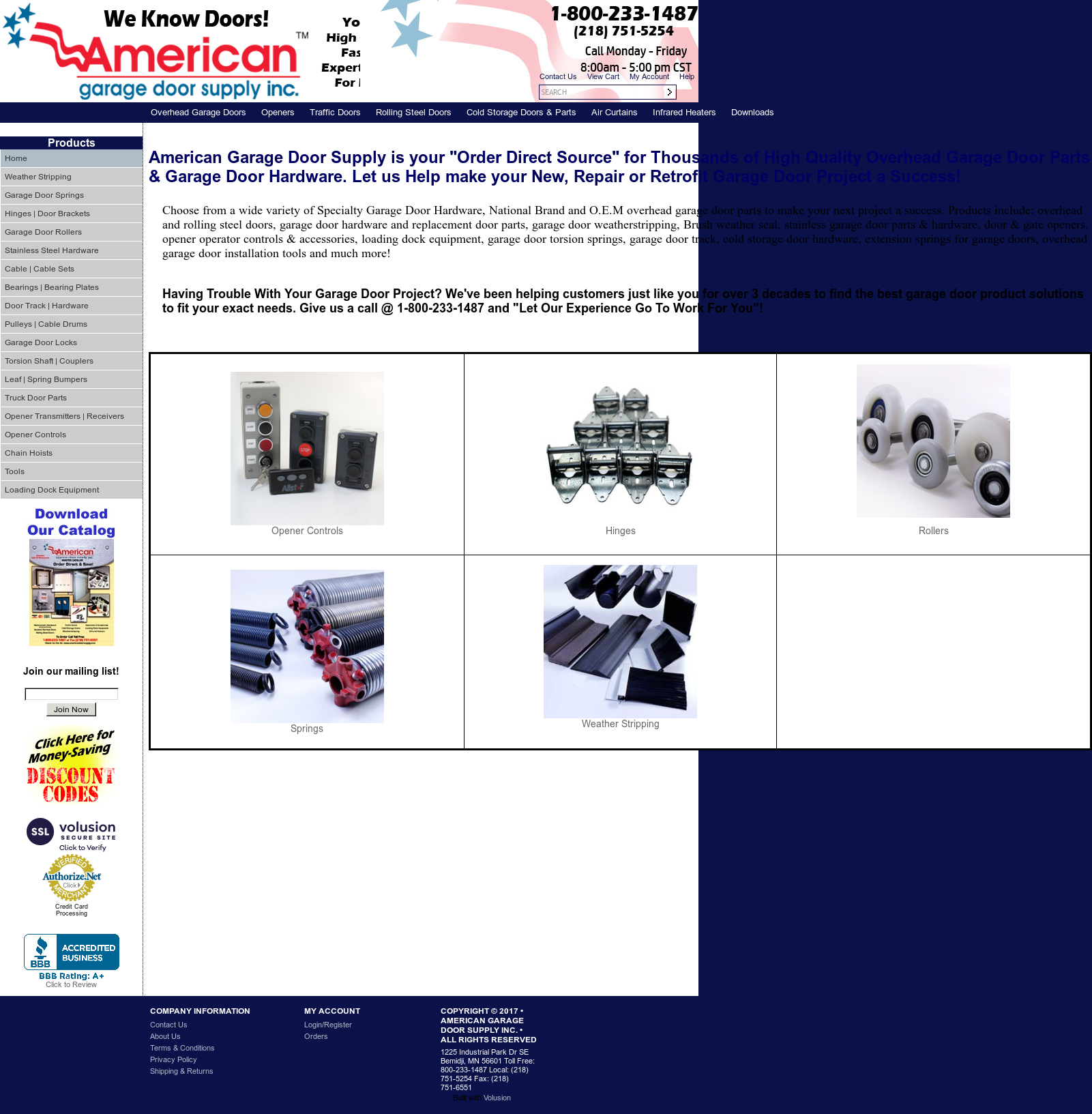 American Garage Door Supply Competitors Revenue And