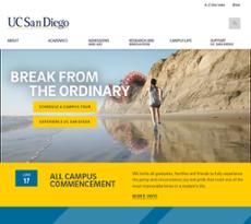 UCSD website history