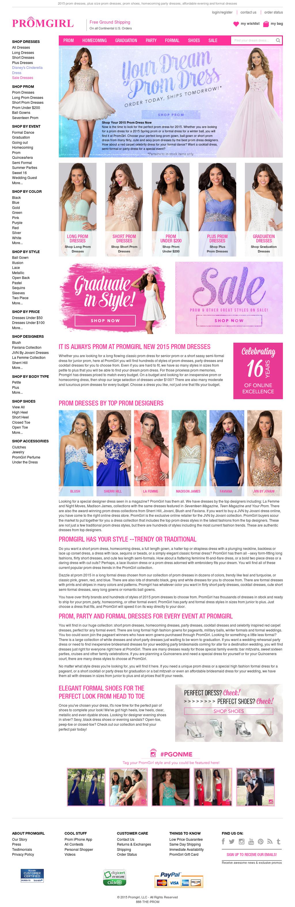 ac637834297 Promgirl Competitors