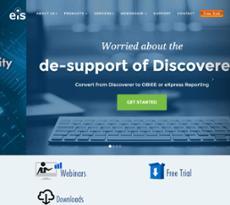 EiS Technologies website history