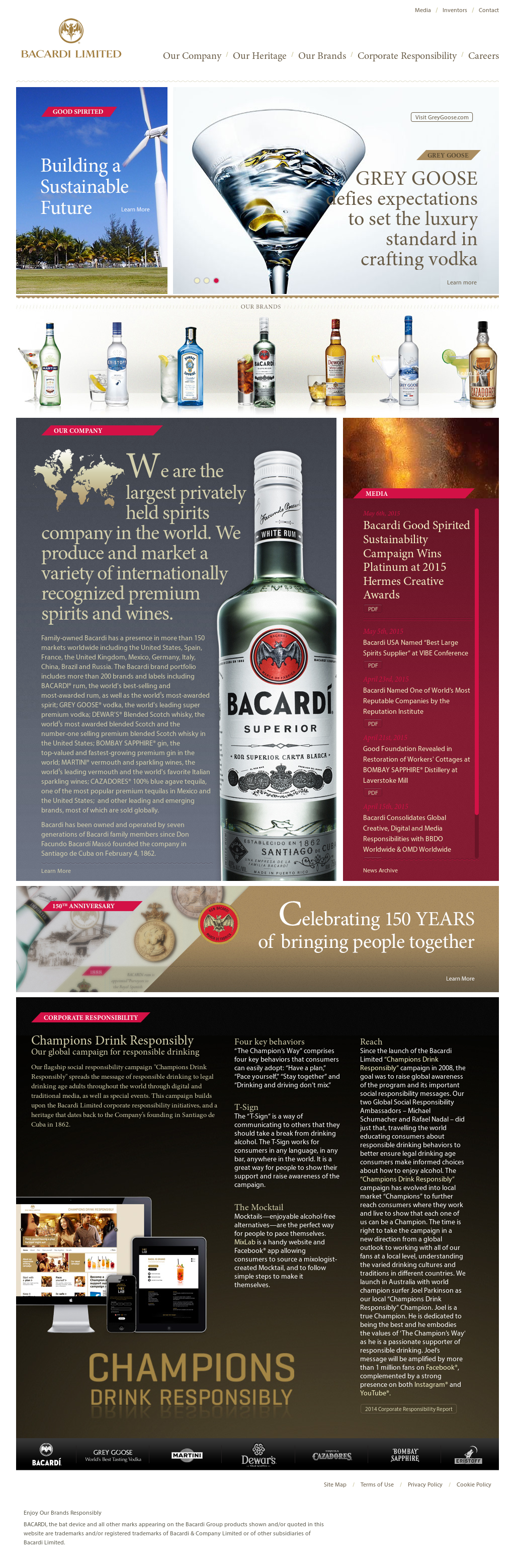 Bacardi Competitors, Revenue and Employees - Owler Company Profile