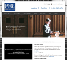 D'Amore Law Group website history