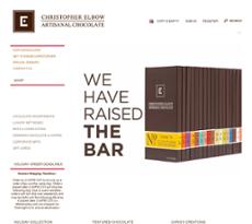 Christopher Elbow Website Design
