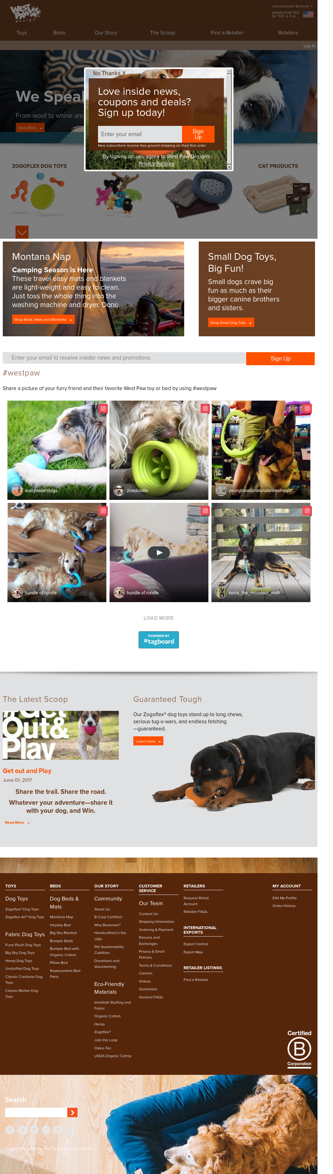 West Paw Design S Latest News Blogs Press Releases Videos