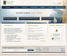 Houlihan Capital website history