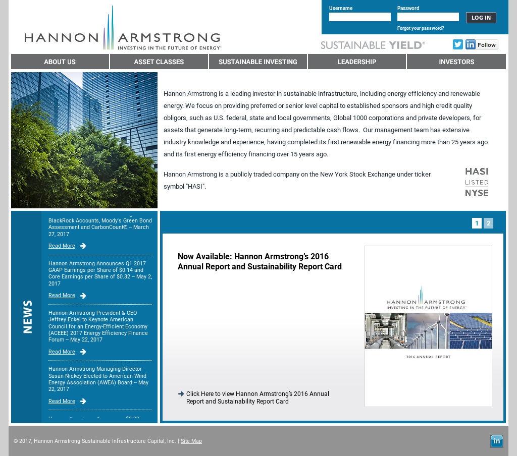 Hannon Armstrong Competitors Revenue And Employees Owler Company