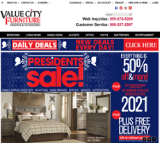 Value City Furniture Competitors Revenue And Employees Owler