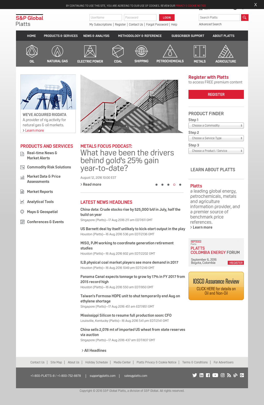 Platts Competitors, Revenue and Employees - Owler Company