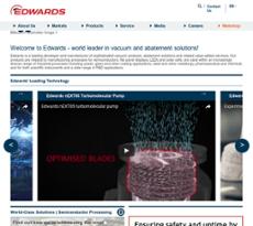 Edwards Group website history