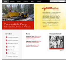 Rapier website history